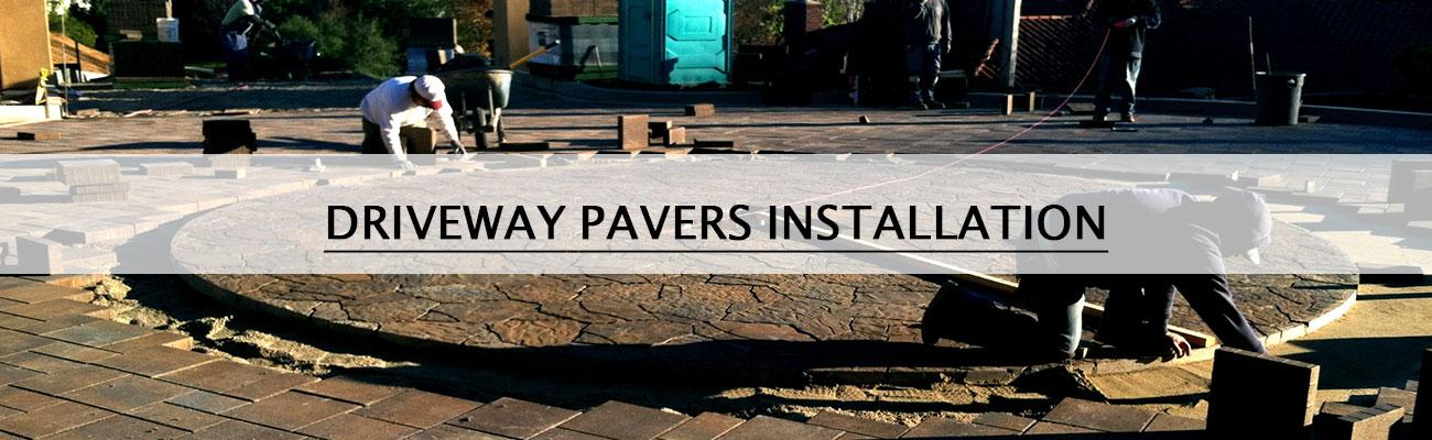 driveway pavers panjia outdoors